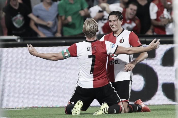 El Feyenoord barre al Excelsior y gana el primer derbi de la temporada