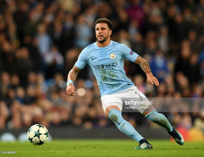 Kyle Walker relishing tough test against old friend Bertrand