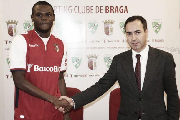 Reforço a título de empréstimo: Braga apresenta Geraldo