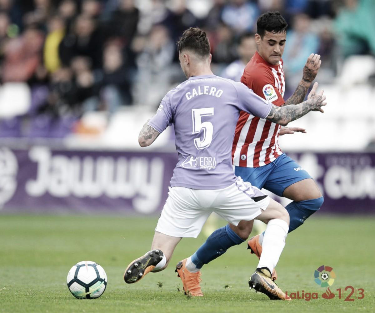 Real Valladolid - Sporting de Gijón: puntuaciones del Real Valladolid en la jornada 35 de LaLiga 1|2|3