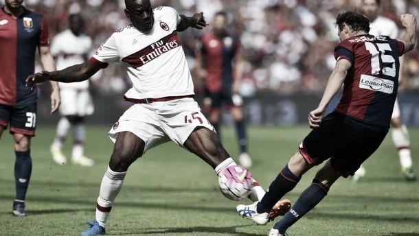 Il Milan cade a Marassi, decide Dzemaili: il grifone torna alla vittoria