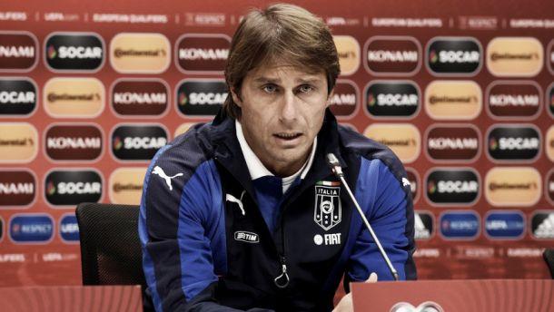 """Italia, parla Conte: """"Pirlo indisponibile per l'Azerbaigian, spero ci sia con la Norvegia"""""""