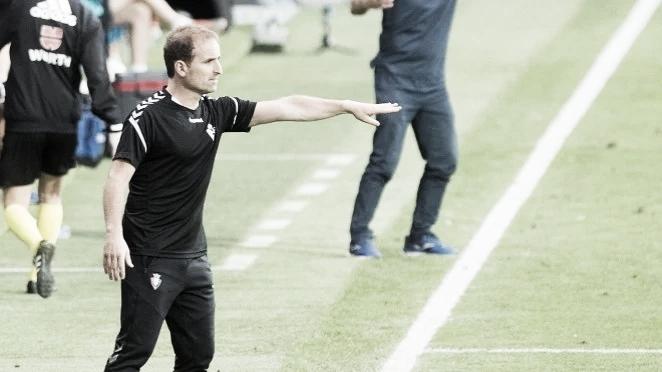 """Jagoba Arrasate: """"Pese a tener prácticamente el objetivo conseguido el equipo ha sido ambicioso y ha dado una gran imagen"""""""