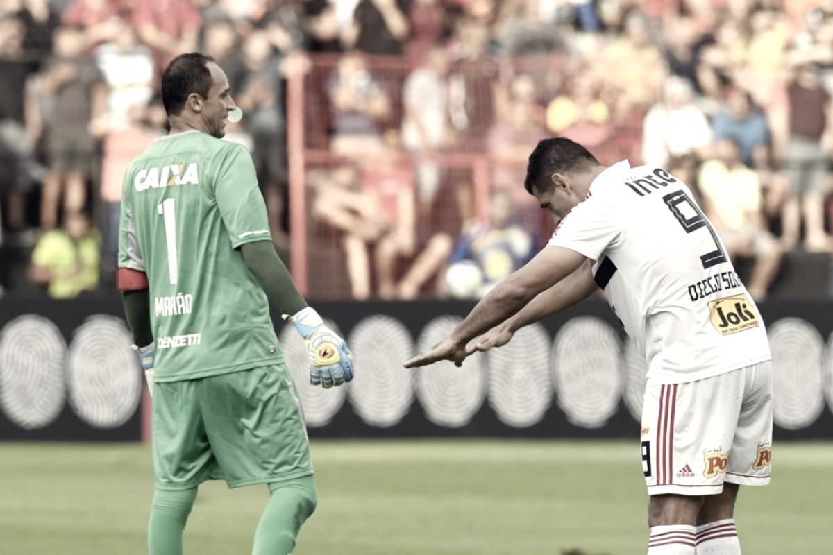"""Após gol contra Sport, Diego Souza relembra período no clube: """"Fui muito feliz aqui dentro"""""""