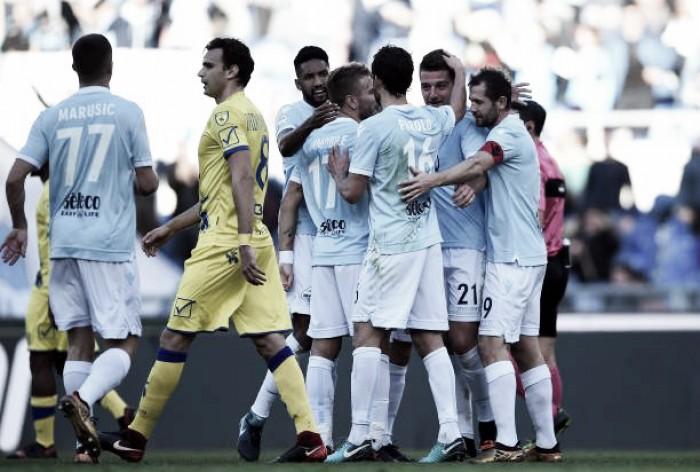 Com gol e assistência de Nani, Lazio passeia sobre Chievo e mantém boa fase na Serie A