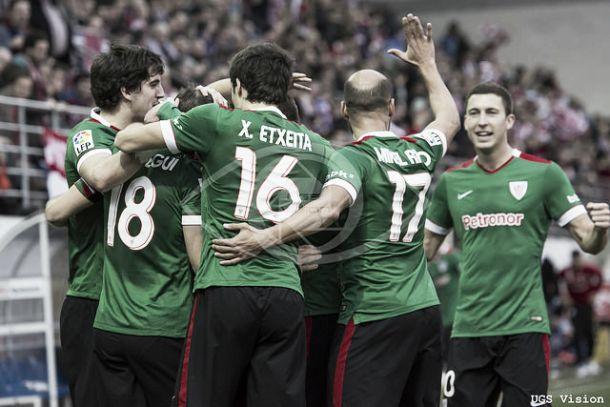 Eibar - Athletic: puntuaciones del Athletic, jornada 25 de Liga BBVA