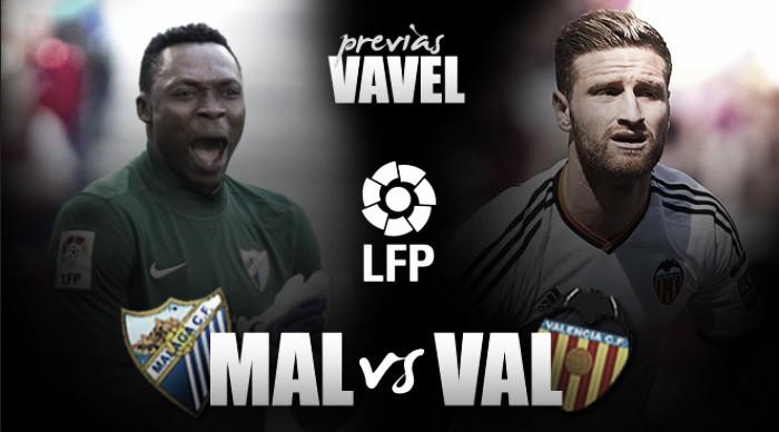 Málaga CF – Valencia CF: Una batalla con más de tres puntos