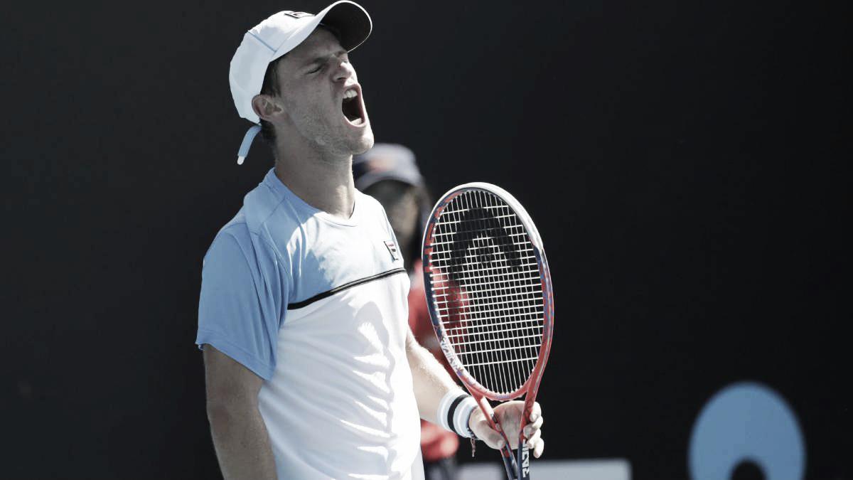 Diego Schwartzman volvió a ganar en el Abierto de Australia