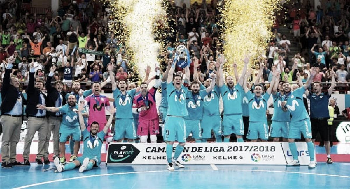 Ganó Inter y el fútbol sala