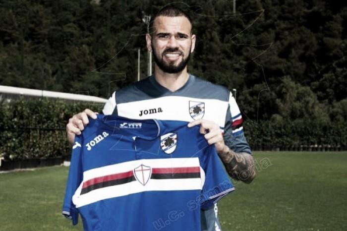 Apresentado na Sampdoria, zagueiro Leandro Castán mira retorno à Seleção Brasileira