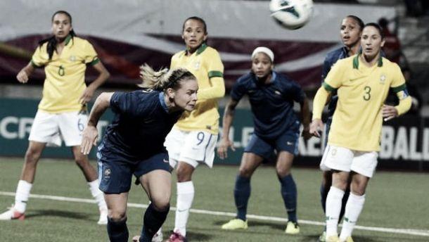 Un score de parité entre la France et le Brésil