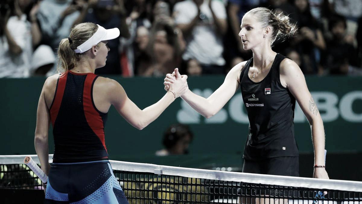 WTA Finals: Primera fecha