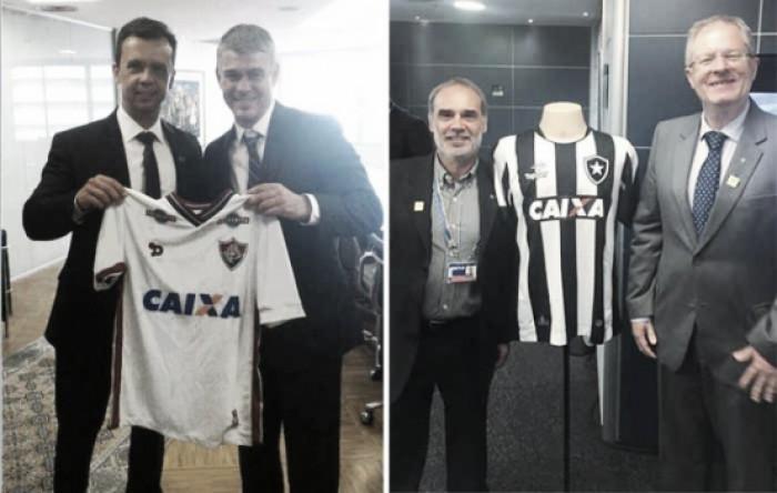 Botafogo e Fluminense firmam licença de marca com a Caixa Econômica