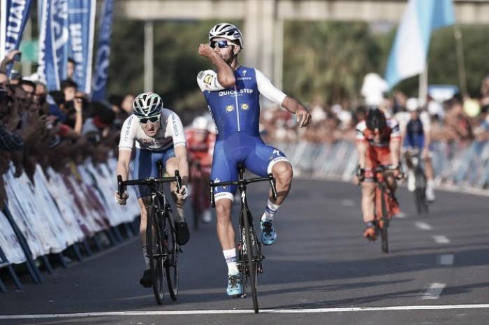 Vuelta a San Juan, il primo sprint nel caos è di Fernando Gaviria