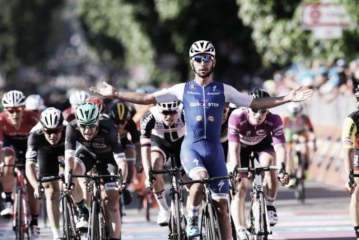 Giro d'Italia, Gaviria vola anche a Messina e concede il bis allo sprint