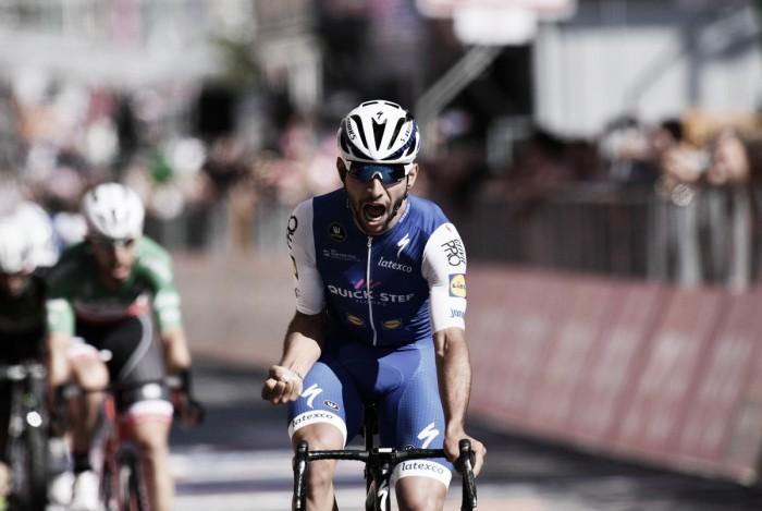 Giro d'Italia, Gaviria vince a Cagliari ed è la nuova maglia rosa