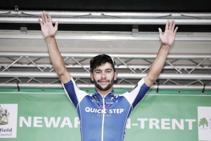 Fernando Gaviria ganó la cuarta etapa del Tour de Gran Bretaña