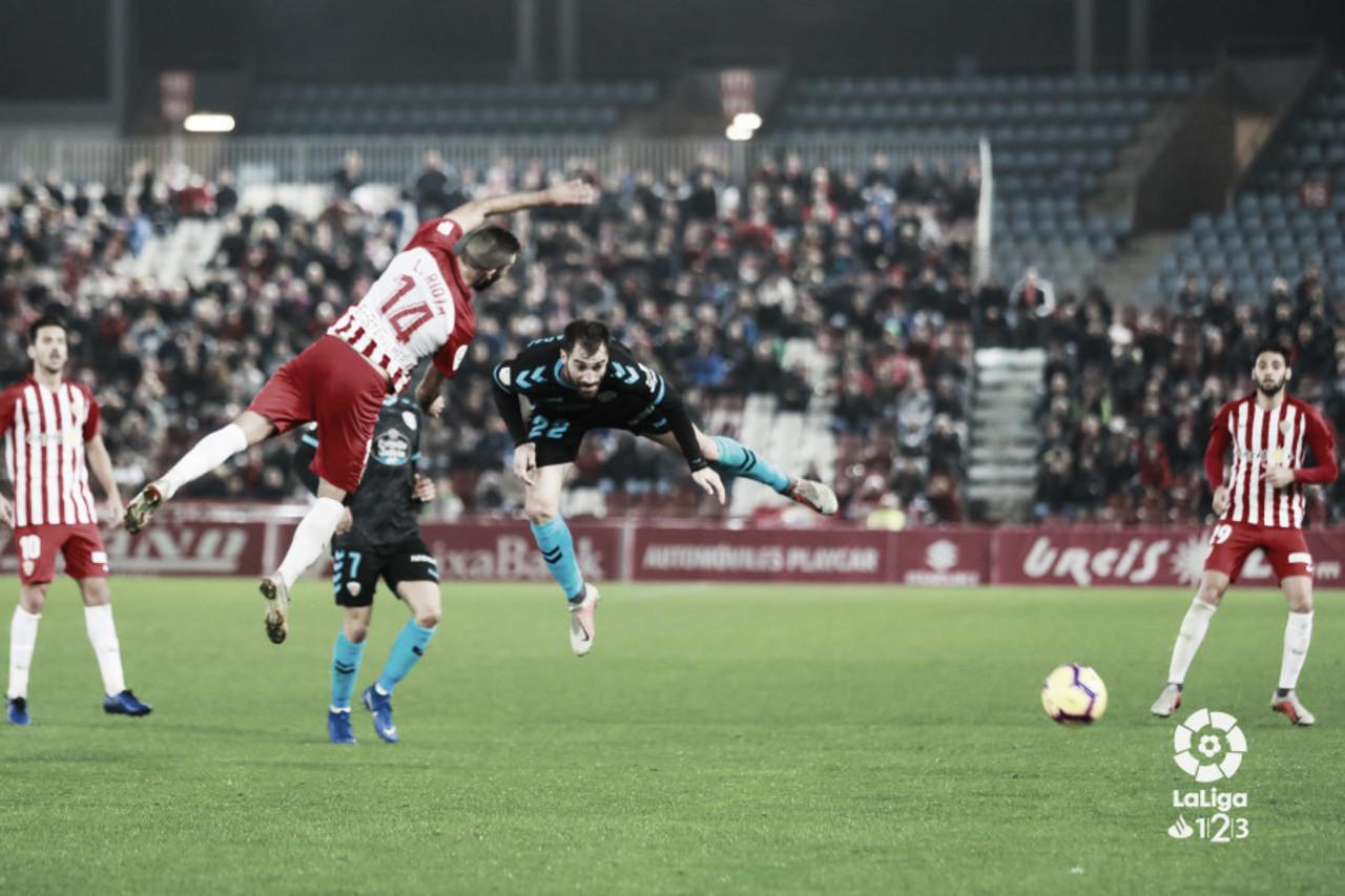 UD Almería - CD Lugo: puntuaciones de la UD Almería en la 18ª jornada de Liga 1|2|3