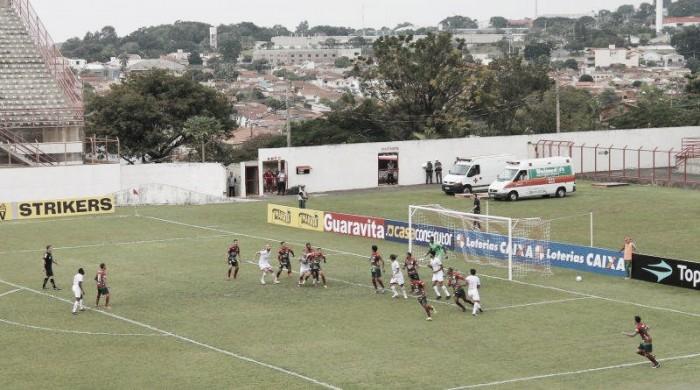 Em jogo morno, Mogi Mirim e Portuguesa empatam sem gols pela Série C