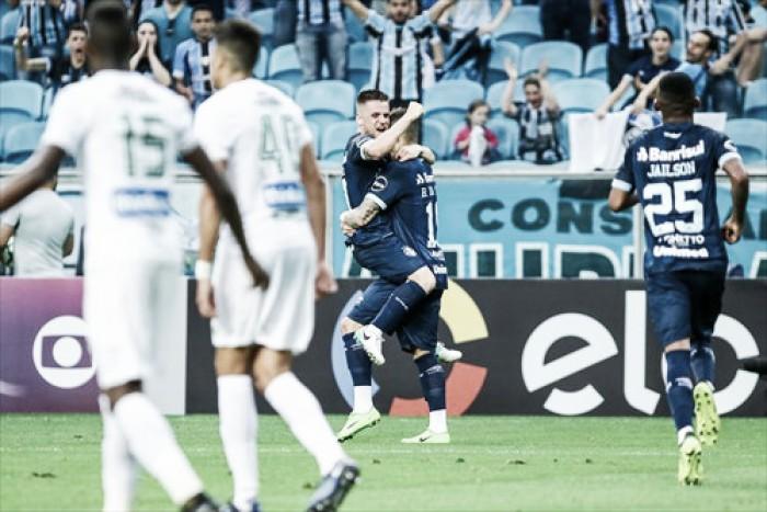 Grêmio volta a vencer e continua perseguição aos líderes