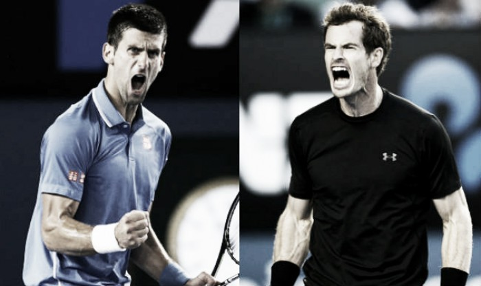 Novak Djokovic x Andy Murray noMasters 1000 de Madri (2-1)