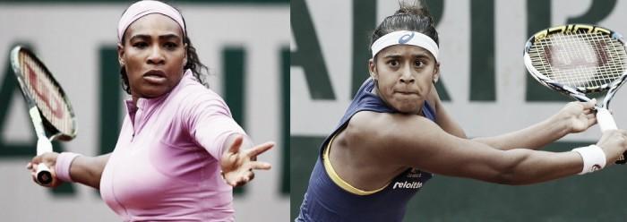 Serena Williams x Teliana Pereira em Roland Garros 2016 (2-0)