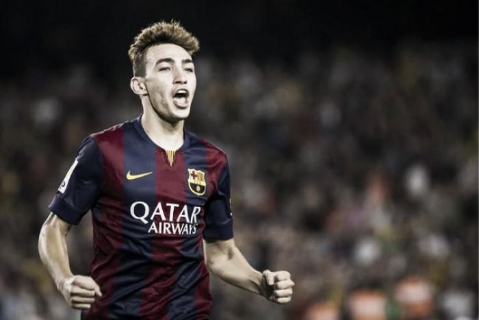 Barcelona renova contrato de promessas Munir e Sergi Samper