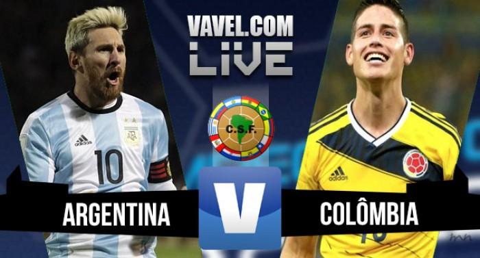 Resultado Argentina x Colômbia pelas Eliminatórias da Copa do Mundo 2016 (3-0)