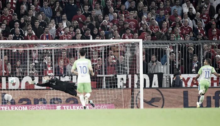 Clamoroso all'Allianz: il Wolfsburg rimonta e blocca il Bayern sul 2-2