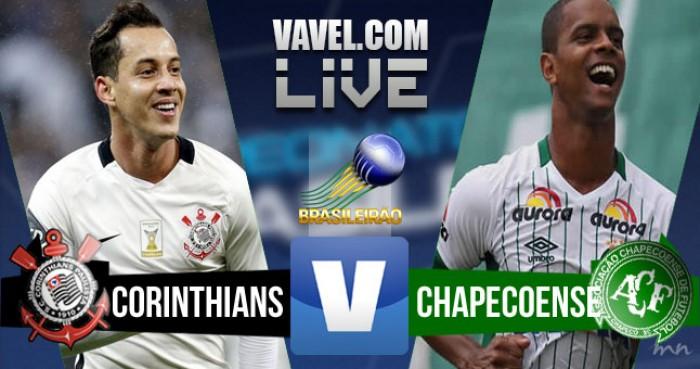 Resultado Corinthians x Chapecoense pelo Brasileirão 2016 (1-1)
