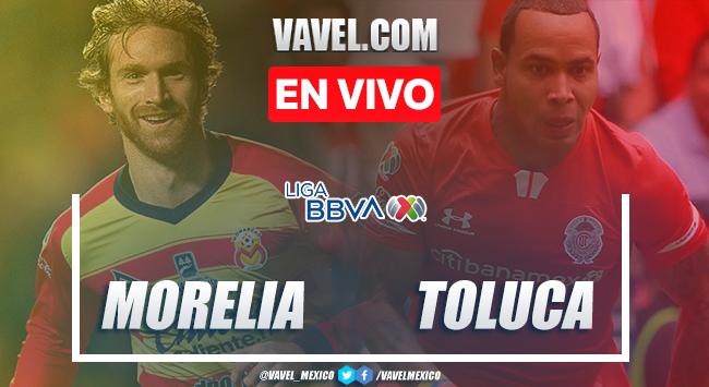 Resumen y goles Morelia 0-1 Toluca en Clausura 2020 LigaMX