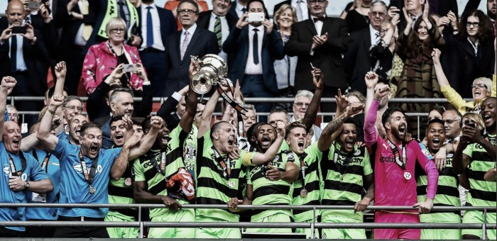 El Forest Green Rovers asciende a League Two por primera vez en su historia