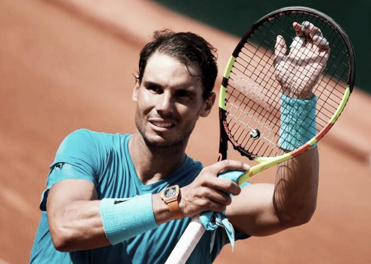 Rafael Nadal atropela Guido Pella e segue à terceira rodada do Aberto da França