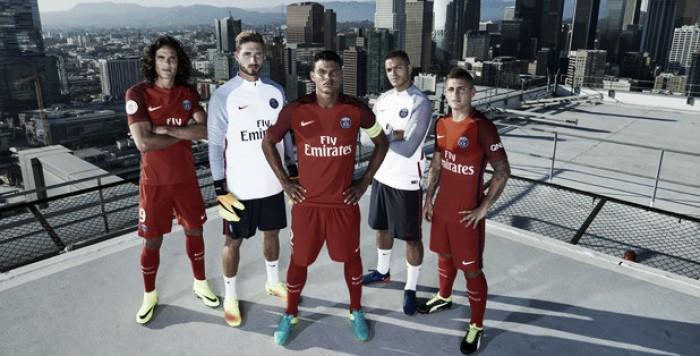 Completamente vermelho, Nike lança uniforme reserva do PSG