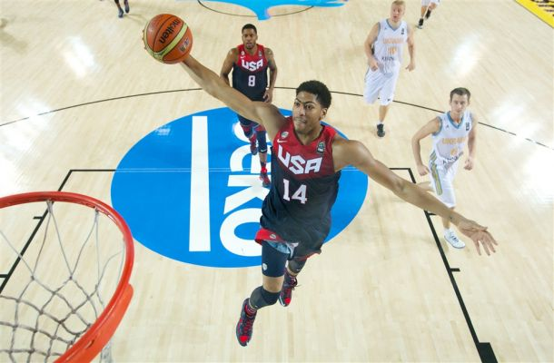 FIBA World Cup: A Big Second Quarter Pushes USA Past Ukraine