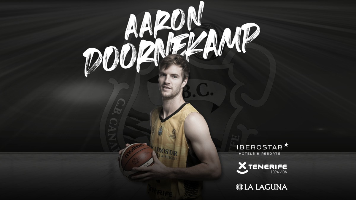 Aaron Doornekamp regresa a Iberostar Tenerife