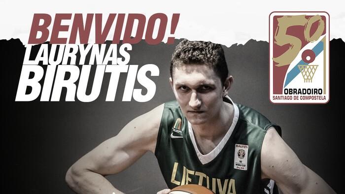Obradoiro cierra la contratación de Laurynas Birutis