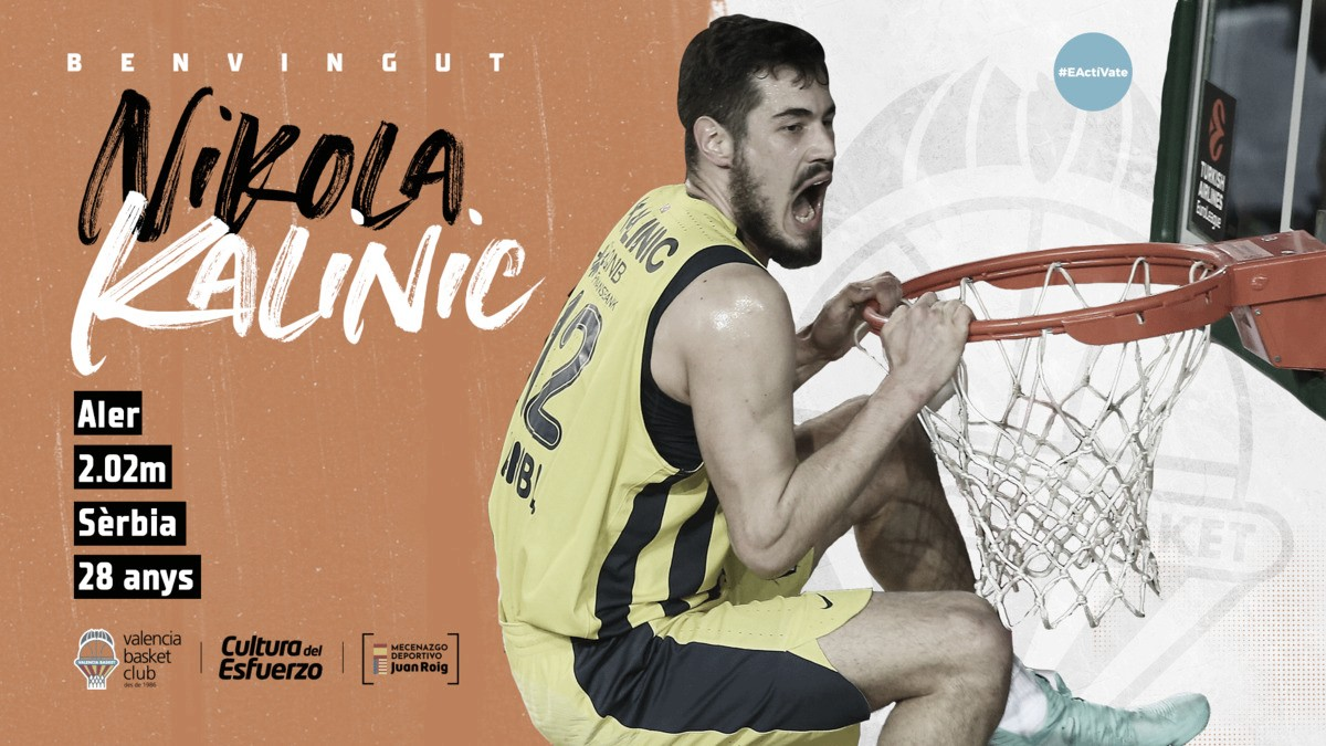 Nikola Kalinic, un fichaje de campanillas para Valencia Basket