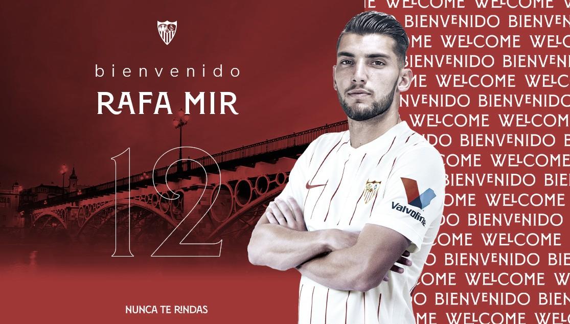 Rafa Mir, nuevo refuerzo para la punta de ataque sevillista