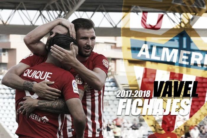 Fichajes de la UD Almería 2017/2018