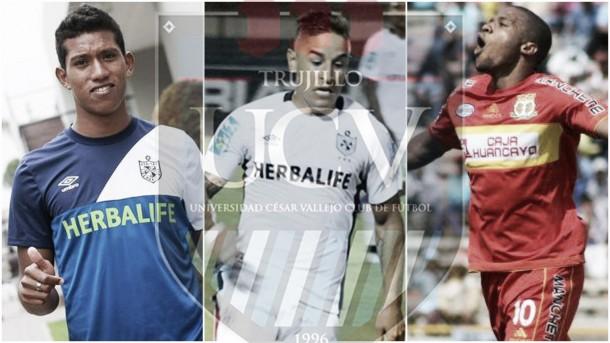 César Vallejo oficializó el fichaje de tres jugadores para la temporada 2016