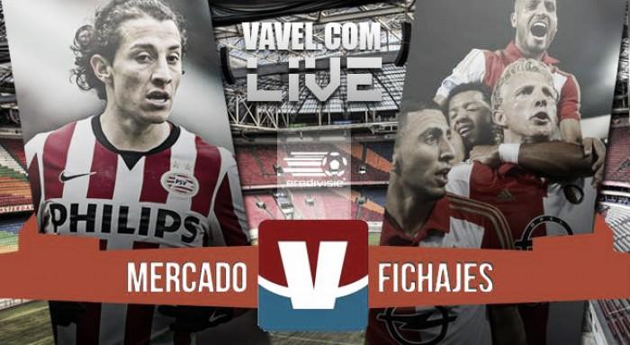 Mercado invernal de fichajes Eredivisie temporada 2015/2016