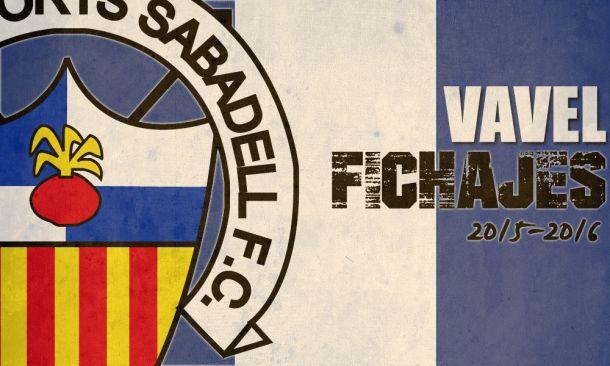Fichajes del CE Sabadell temporada 2015/2016 en directo