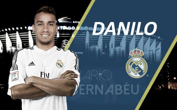 31,5 milhões: Danilo foi o defesa mais caro de sempre do Real Madrid