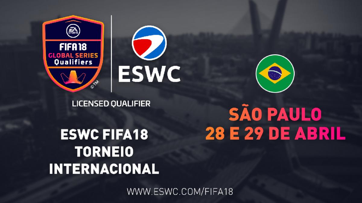 FIFA 18: Torneio internacional terá etapa em São Paulo