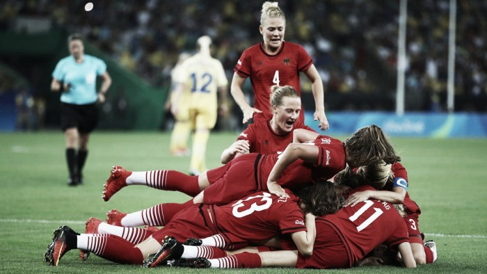 Sweden 1-2 Germany: Neid's golden goodbye