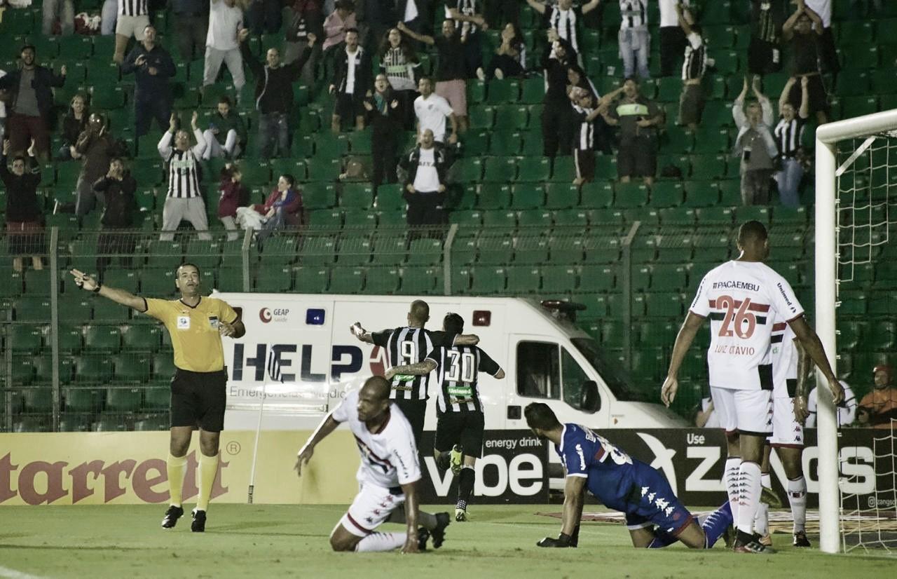 Rafael Marques marca pela primeira vez, e Figueirense vence Botafogo-SP no Scarpelli
