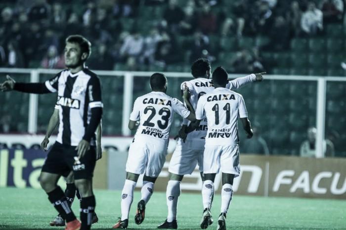 Em jogo nervoso e com duas expulsões, Figueirense e Atlético-MG empatam em Floripa