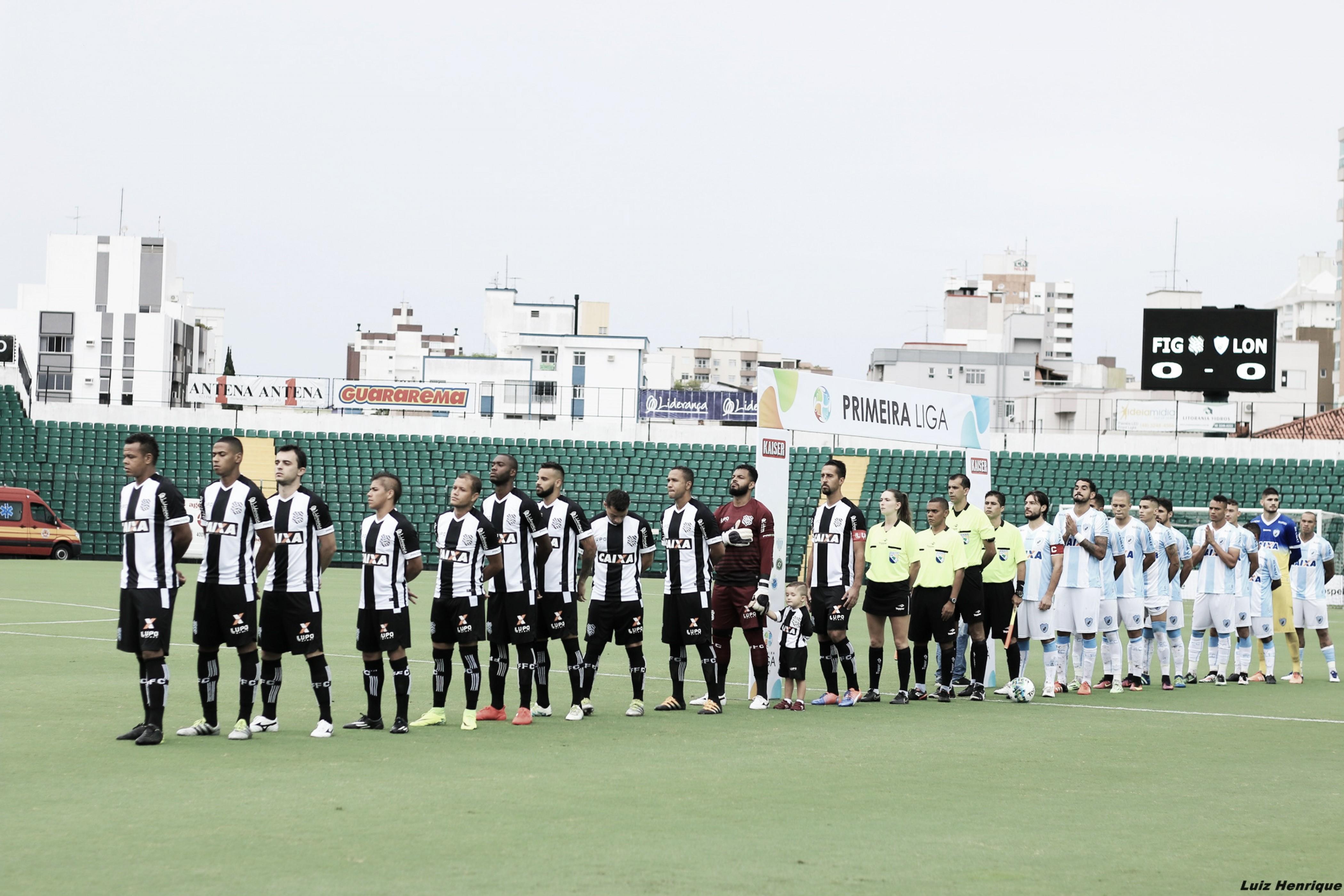 Próximos na tabela, Londrina e Figueirense duelam buscando o G-4 da Série B