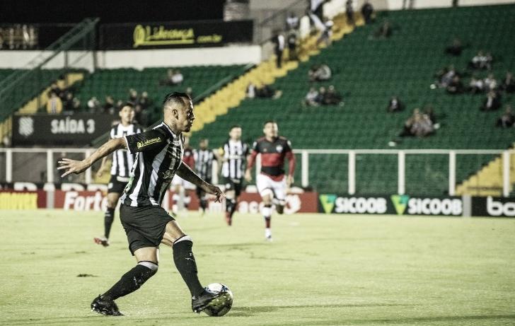 Contando com gol contra, Figueirense bate Atlético-GO no Scarpelli
